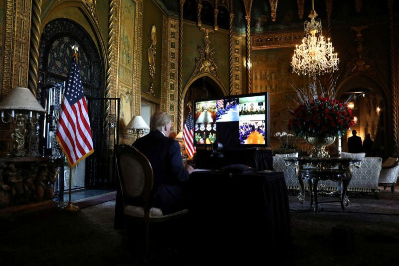 Tổng thống Trump ở đâu khi ông Biden nhậm chức?