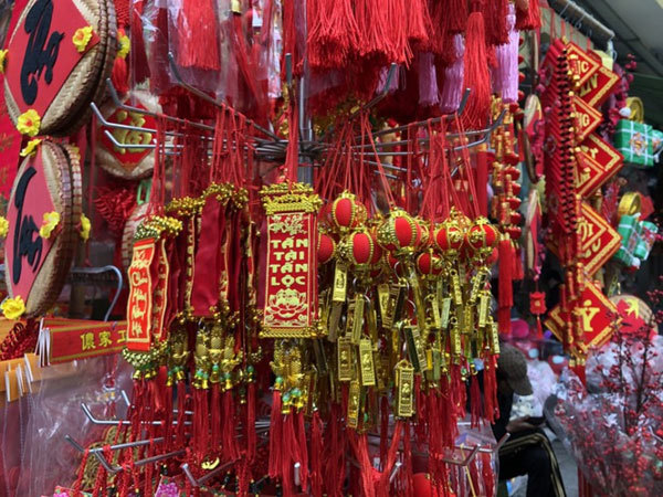 Tet holiday,Hang Ma Street