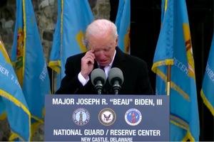 Tổng thống Mỹ đắc cử Joe Biden khóc khi tạm biệt quê nhà