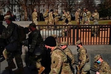 Mỹ loại 12 Vệ binh quốc gia khỏi nhiệm vụ bảo vệ lễ nhậm chức