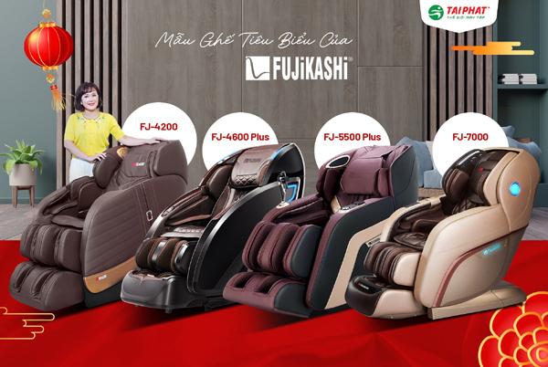 Cảnh giác với hàng nhái hãng ghế Massage Fujikashi