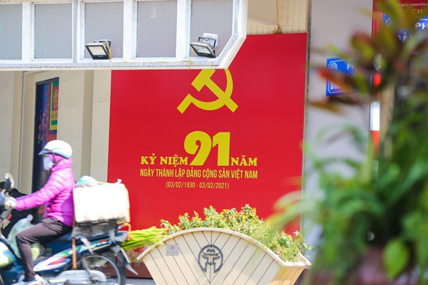 Hanoi given new facelift to welcome 13th National Party Congress