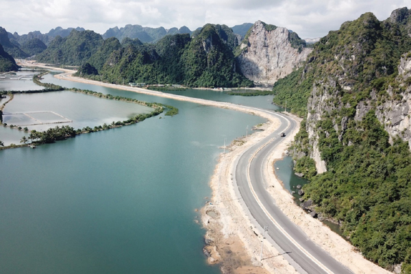 BĐS hưởng lợi khi đường bao biển Hạ Long - Cẩm Phả hoàn thành