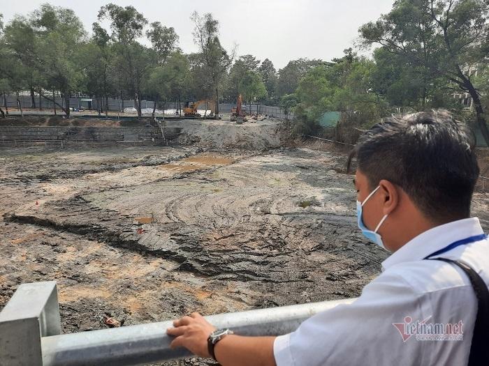 Xử lý gần 1.200 mét khối đất nhiễm dioxin tại sân bay Biên Hòa