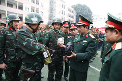 Thứ trưởng Quốc phòng kiểm tra công tác bảo vệ Đại hội Đảng