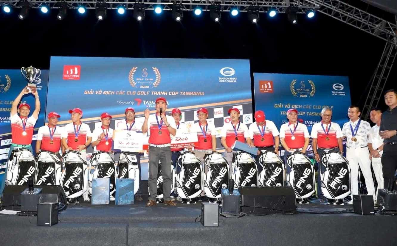 Giải golf các CLB phía Nam: Miền Trung & Friend vô địch