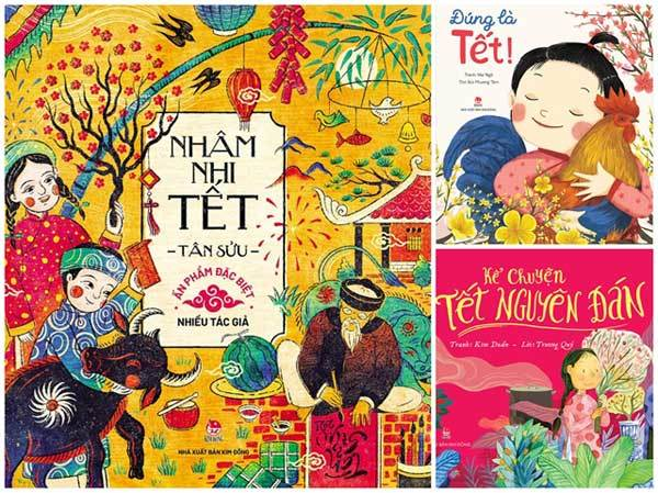 New children's books about Tet released