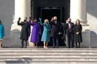 Tổng thống đắc cử Joe Biden tới toà nhà Quốc hội để nhậm chức