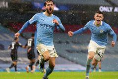 Man City thắng nghẹt thở Aston Villa