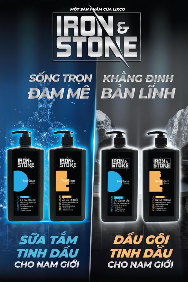 Dầu gội Iron&Stone - sản phẩm 'thấu hiểu' đấng mày râu Việt