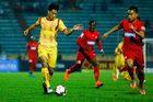 Bình Định 1-0 Sài Gòn: Học trò thầy Park mở tỷ số sớm