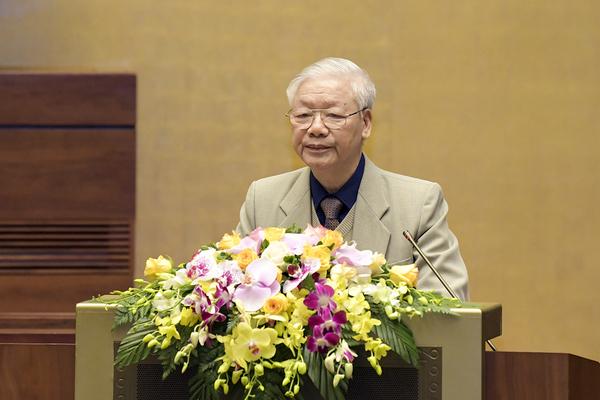 Phát biểu của Tổng Bí thư, Chủ tịch nước tại hội nghị triển khai công tác bầu cử ĐBQH và HĐND