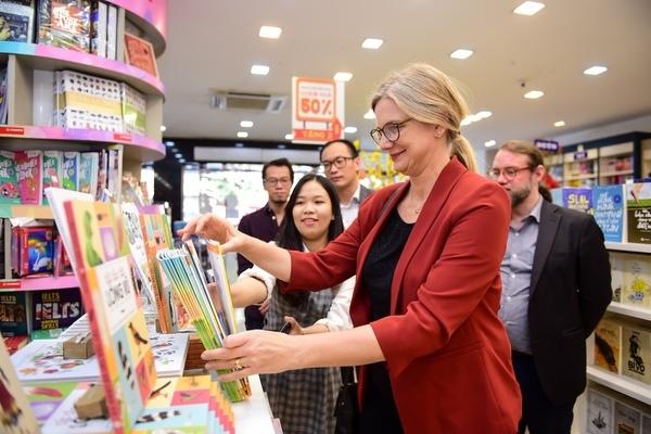 Đại sứ Thuỵ Điển muốn hợp tác với Việt Nam trong lĩnh vực xuất bản