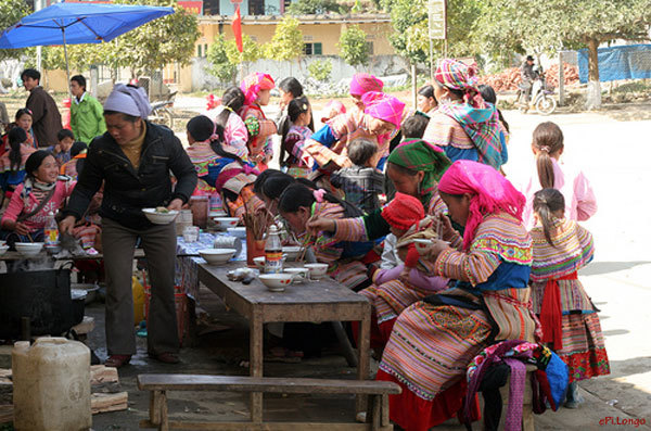 Pho hong, a must-try dish in Bac Ha