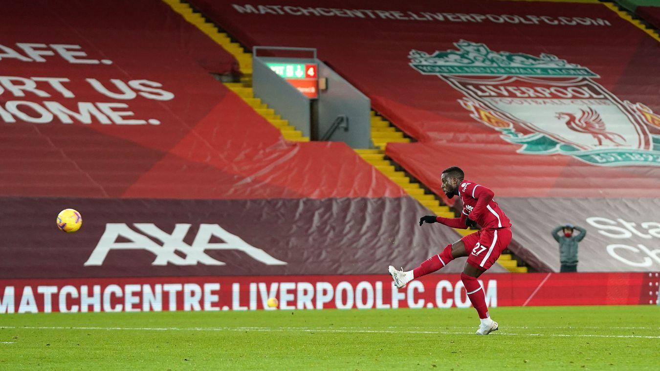 Liverpool thua sốc Burnley ngay trên sân nhà