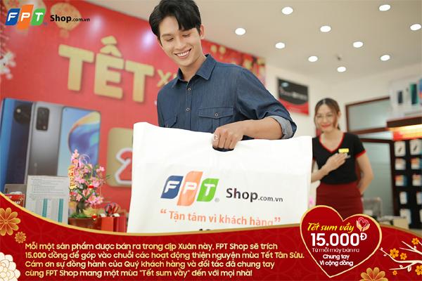 FPT Shop mang 'Tết sum vầy' đến những hoàn cảnh khó khăn