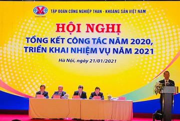 Năm 2020, TKV nộp ngân sách 19.500 tỷ đồng