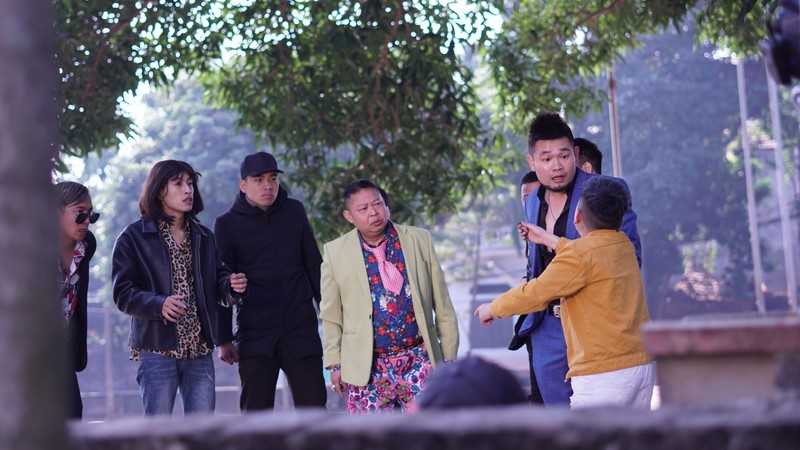 Việt Bắc tham gia hài Tết 'Hiệp sĩ làng'