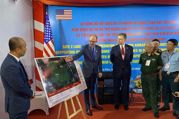 Vietnam, the US celebrate progress on partnership addressing war legacies