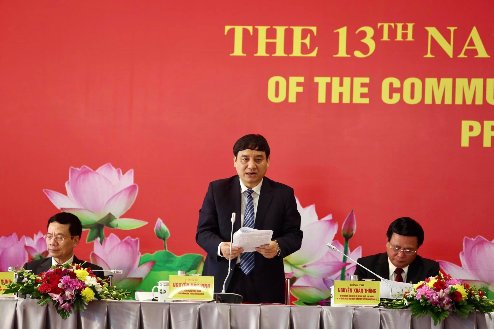 Đại biểu dự Đại hội Đảng XIII được bố trí ăn, nghỉ tập trung