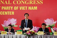 Phát biểu của Phó trưởng Ban Tổ chức T.Ư Mai Văn Chính về tình hình đại biểu dự Đại hội XIII của Đảng