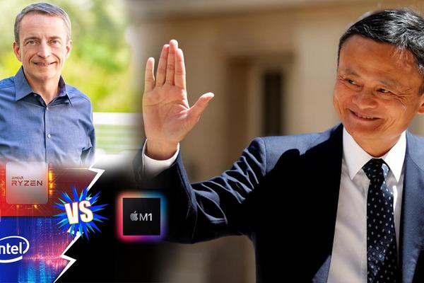 Jack Ma tái xuất, CEO mới Intel 'tuyên chiến' Apple