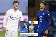Real Madrid và Chelsea đổi Hazard lấy Kai Havertz