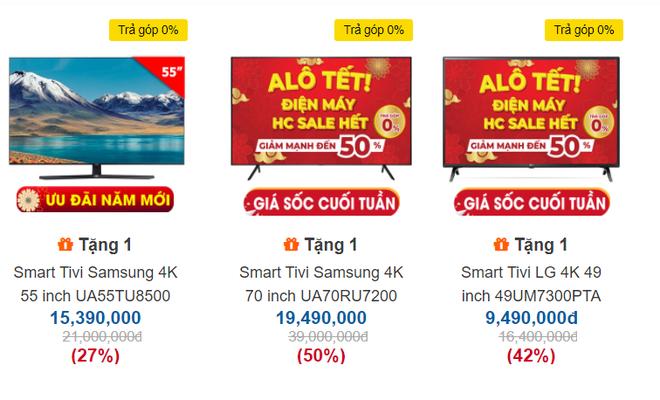 Tân trang nhà đón Tết với 5 mẫu tivi 4K sang chảnh giảm giá 'sốc' 50%, có mẫu bay 20 triệu