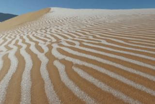 Băng bao phủ sa mạc Sahara lần thứ 4 trong nửa thế kỷ