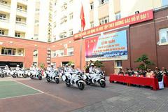 Lá chắn thép Cảnh vệ sẵn sàng cho Đại hội Đảng