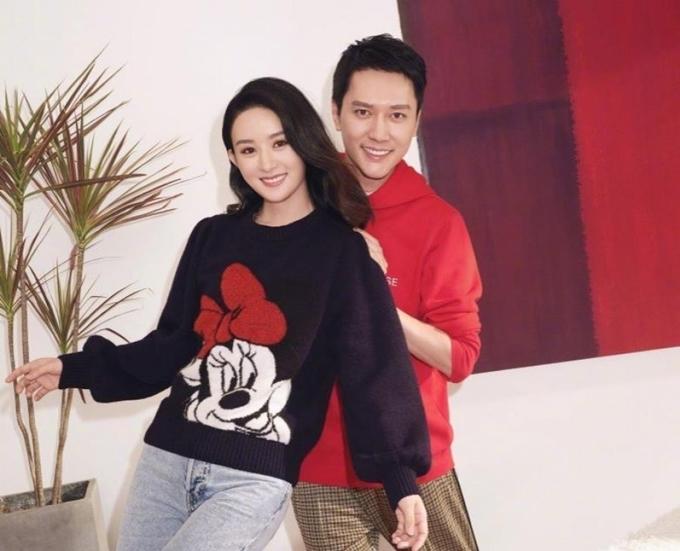 Triệu Lệ Dĩnh - Phùng Thiệu Phong phủ nhận thông tin ly hôn