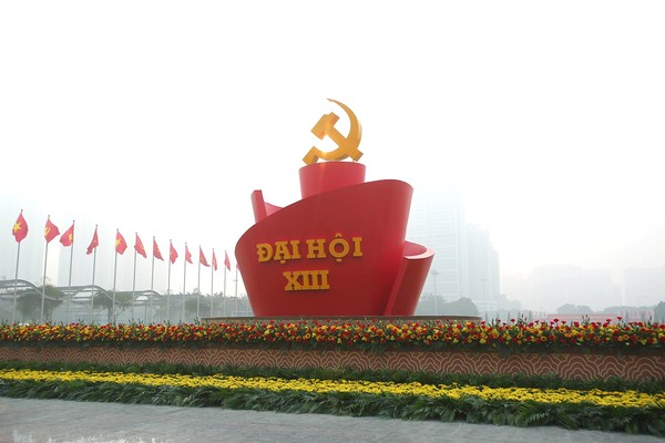 Nơi ba lần tổ chức Đại hội Đảng rực rỡ cờ hoa sẵn sàng ngày khai mạc