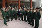Quân ủy Trung ương gặp mặt 125 đại biểu quân đội dự Đại hội Đảng