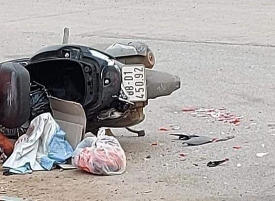 Cô gái bị xe chở đất tông tử vong ở Vĩnh Phúc