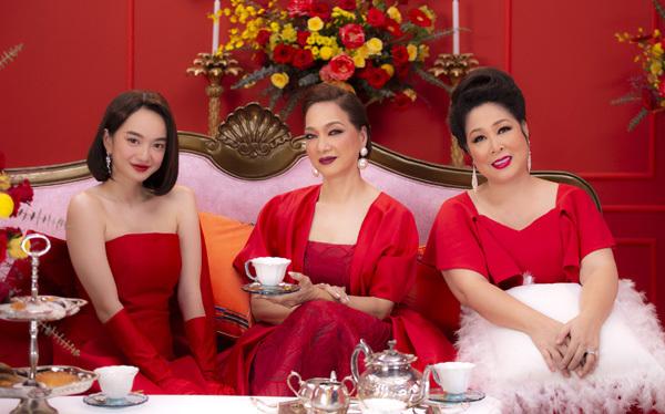 NSND Lê Khanh, Hồng Vân 'bắn' rap cực chất về giới siêu giàu