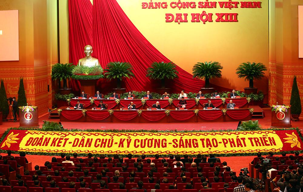 Thông qua quy chế bầu cử Đại hội XIII của Đảng