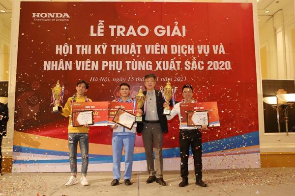 So tài tay nghề dịch vụ Honda Việt Nam