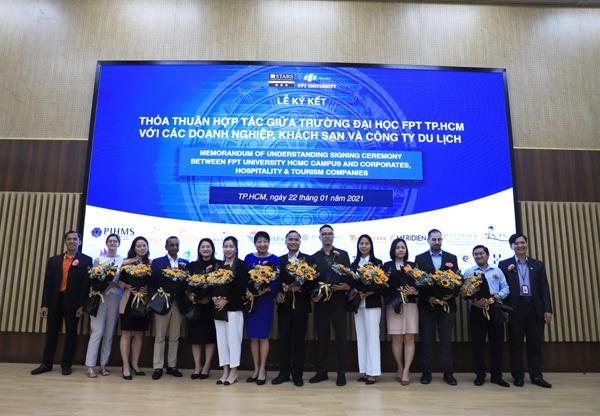 Đại học FPT TP.HCM cùng khách sạn, DN lữ hành lớn đào tạo nhân lực chất lượng cao