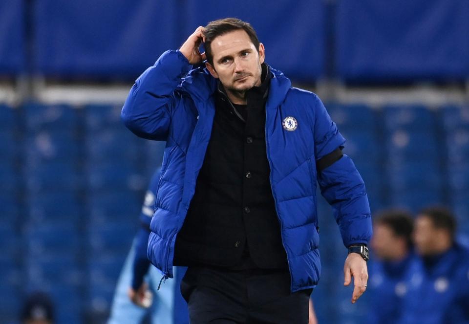 Rộ tin Chelsea sa thải HLV Frank Lampard