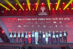 Việt Á Land - Top 2 đại lý Gold xuất sắc nhất năm 2020 của Vinhomes