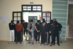 22 nam nữ dương tính với ma túy trong nhà nghỉ ở Quảng Trị