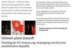 Truyền thông quốc tế viết về Đại hội Đảng của Việt Nam