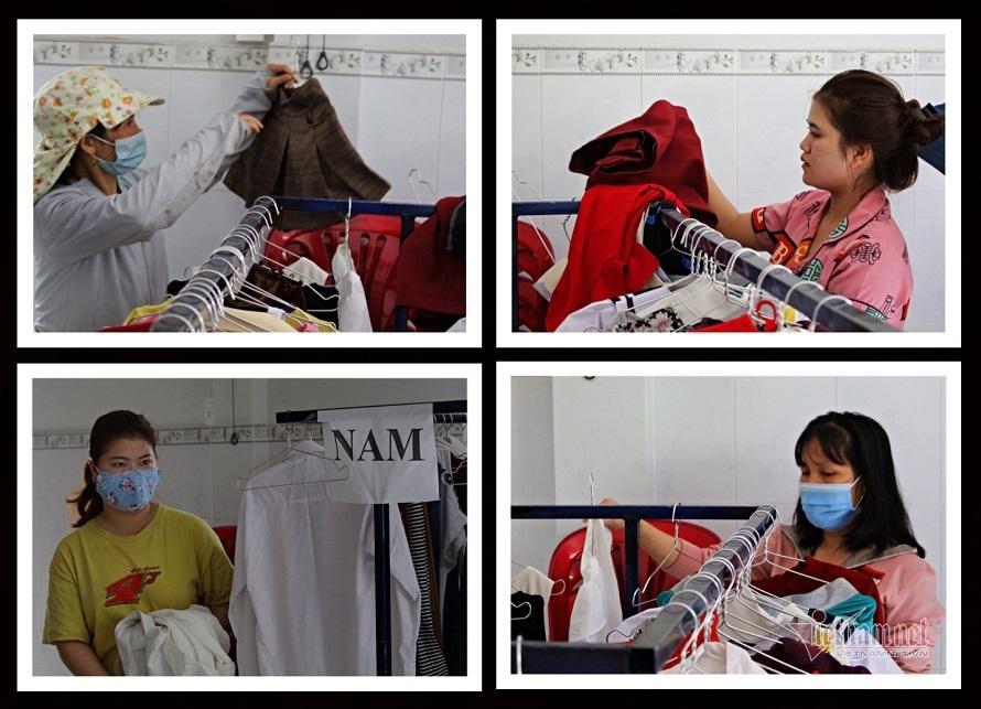 Cửa hàng 0 đồng nhiều quần áo mới, đẹp, người Sài Gòn vui khi đến lấy