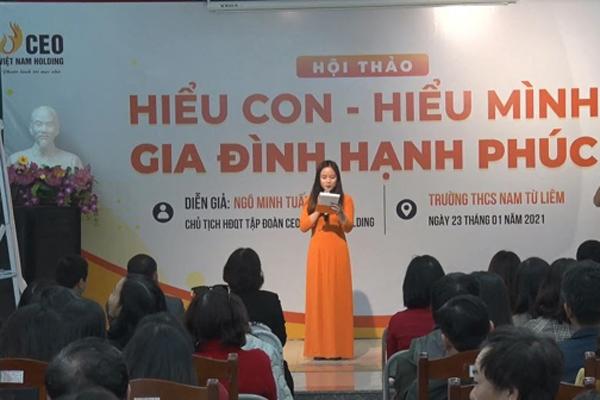 Hội thảo giáo dục giúp phụ huynh 'hiểu con - hiểu mình'