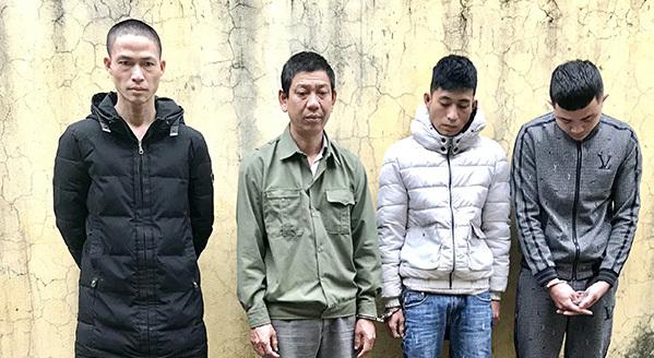 Bắt nhóm đối tượng thực hiện 17 vụ trộm chó ở Hà Tĩnh