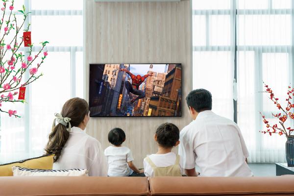 Giải trí tại gia 'đỉnh cao' với TV Sony Bravia