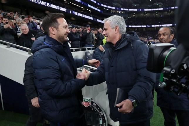 Mourinho nhắn Lampard: Đó là sự tàn khốc của bóng đá