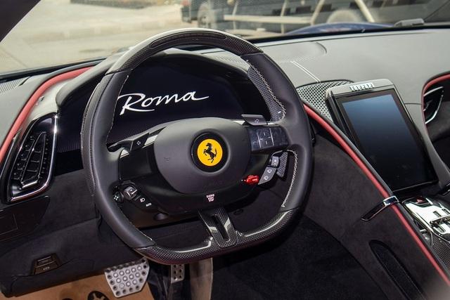 Soi chi tiết Ferrari Roma: Siêu xe 20 tỷ độc nhất châu Á vừa về Việt Nam