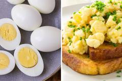 Cách chế biến trứng bổ dưỡng nhất