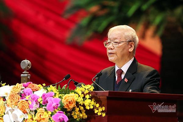 Toàn văn Báo cáo của Ban Chấp hành Trung ương khóa XII do Tổng Bí thư, Chủ tịch nước trình bày
